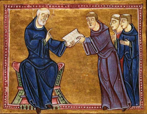 Emissari postali Papali e dei Monaci