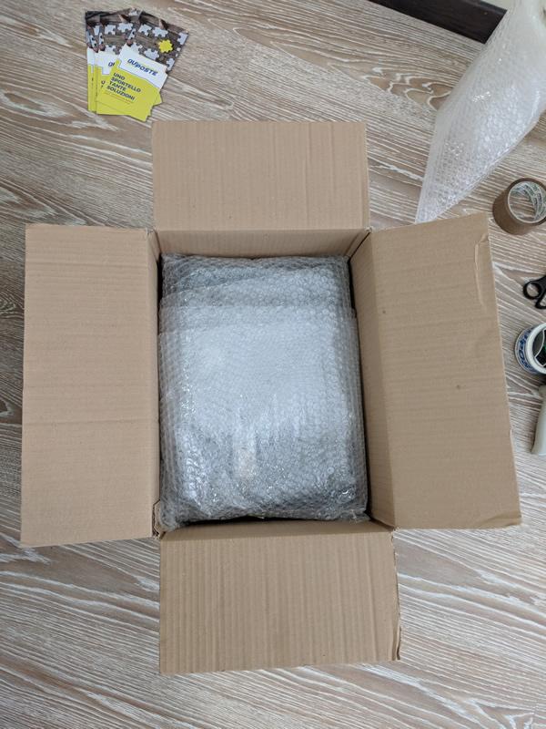 Come imballare un pacco scatola