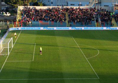 Stadio Crotone tribuna