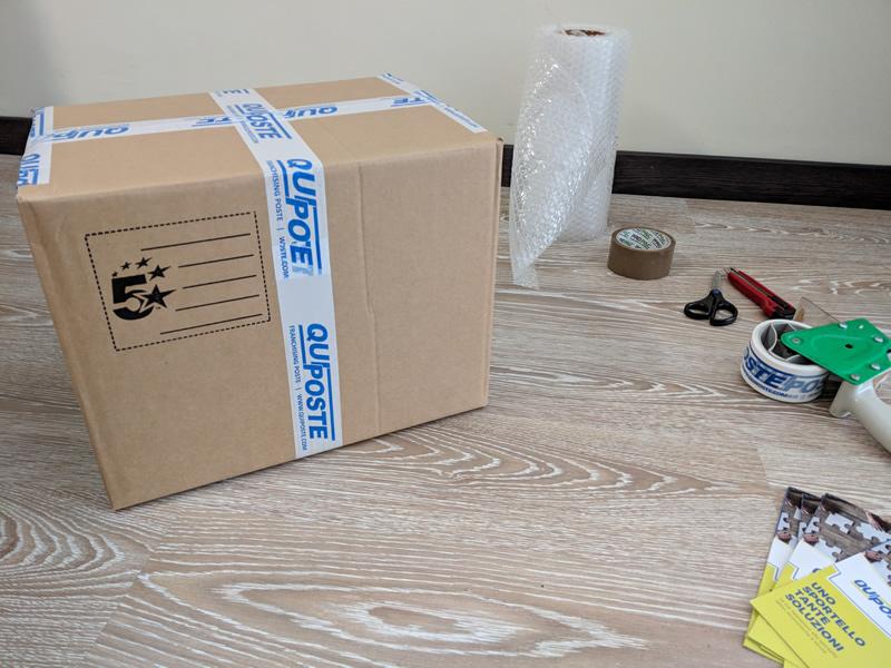 Come imballare un pacco