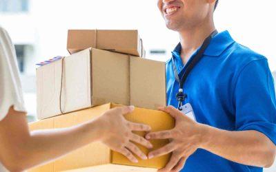 Pagamento alla consegna di un pacco
