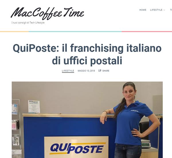 QuiPoste il franchising italiano di uffici postali