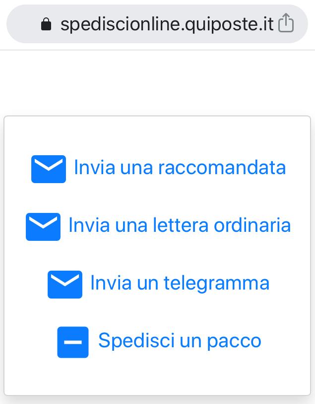 Posta raccomandata online con QuiPoste